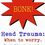 TMI Tuesdays:  Head Trauma
