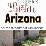 Arizona Planting Guide