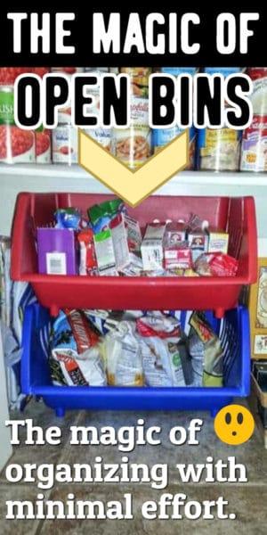 open bin organization