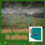 Speaking of Sprinklers:  AZ Lawn Watering Schedule