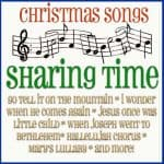 Christmas Songs Sharing Time