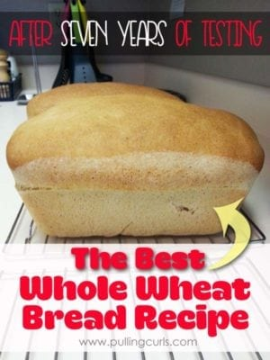 best whole wheat bread recipe | grinder | berries | mixer | homemade | baking