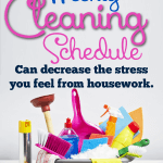 The Benefits of a House Cleaning Schedule