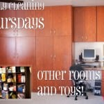 Weekly Cleaning: Thursdays — other Rooms and toys