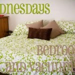 Weekly Cleaning:  Wednesdays — Bedrooms and vacuuming