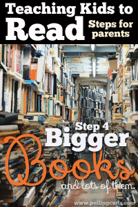 """Moving on to bigger steps is the final """"step"""" in teaching reading. It's a whole new world for early readers -- and YOU can help them see it all!"""