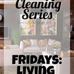 Weekly Cleaning: Fridays — Living room/Laundry