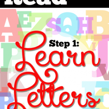 Learning letters is all about fun & games. Here are six games to play to learn your letter sounds!