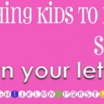 Teaching Reading:  Step 1– Letters!
