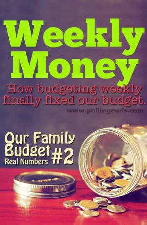 "*INCLUDES our ACTUAL budget numbers* -- how budgeting weekly finally made budgeting ""click"" for me -- the shorter time span made it REALLY work. Maybe it would work for you!"