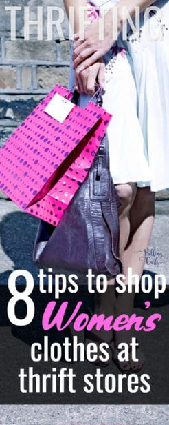 how to shop at thrift stores for women's clothing