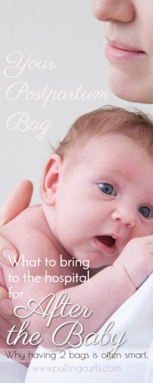 Hospital Bag for After Delivery | mom to be | checklist | minimalist | C-section | essentials | labor | pregnancy