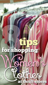 Check out this lady who admits to shopping at thrift stores but also shares 8 great tips for finding the best stuff for you!