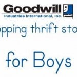 Goodwill:  Boys Clothes