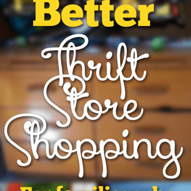 Thrift store shopping can be intimidating until you go with someone who has tips. Come with me for my best tips for thrift store shopping, and soon you'll be the pro too! #pullingcurls