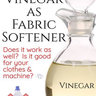 Vinegar can take the place of your regular fabric softeners.  It has many benefits and can improve the life of your machine.