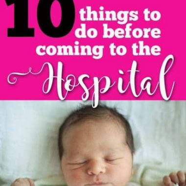 hospital checklist for mom to be | baby | labor | pregnancy | pregnant | labor and delivery | hospital bag