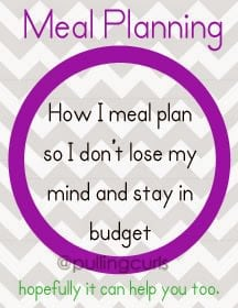 Meal Plans Tips | menu | budget | health | lose weight | family