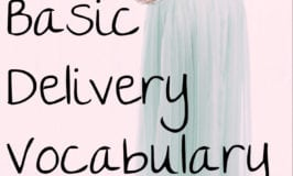 Normal Delivery Vocabulary