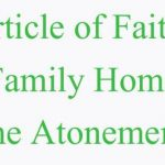 Third Article of Faith Family Home Evening