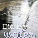 TMI Thursday:  Is Your Water Broken?