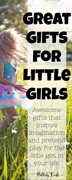 Gifts for little girls / pretend play / imagination via @pullingcurls