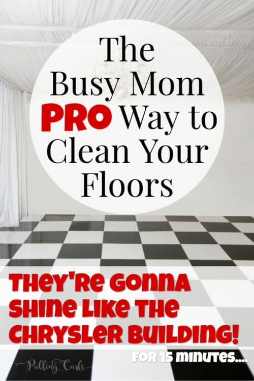 How to Clean Tile Floors With Vinegar and Baking S