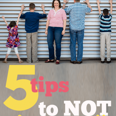 5 ways to NOT do it all and still feel like you're doing all that's important. To you {not to your pta president}