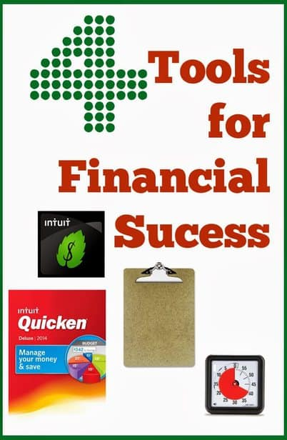 4 things I use to keep our finances on track. They're not expensive, but highly effective!