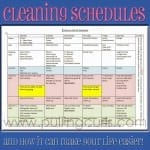 The Benefits of a Daily Housecleaning Schedule