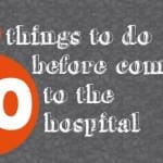 Things To Do Before Having A Baby {at a hospital}