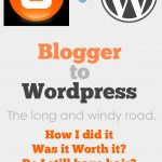 Moving to WordPress from Blogger