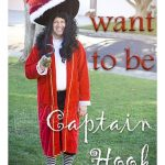 Make a Captain Hook Costume {Using Thrifted Items}