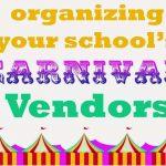 Organizing A Carnival: Vendors