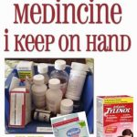 Children's Medicine:  What I Keep on Hand