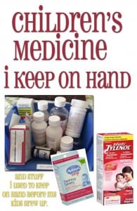 Children's medicine | tips | products | essential | mom | products | storage