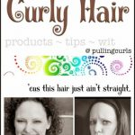 How I Style Curly Hair: 2014 edition
