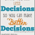 Better Decisions