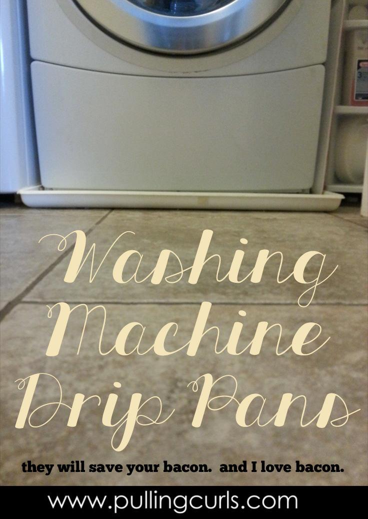 washing machine drips water when