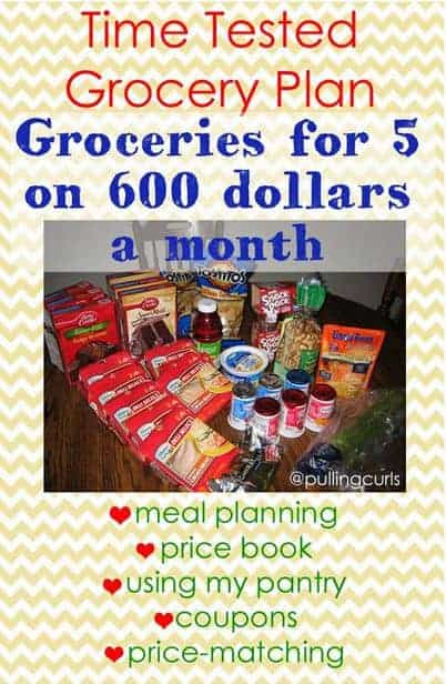 Grocery shopping planning with many techniques will combine to save you the MOST money!