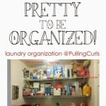 Organizing: Laundry Room
