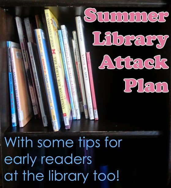 How we are going to use the library this summer to give us lots of books to read, but a day of fun also!