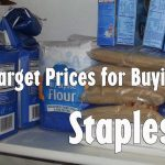 Grocery Shopping: Staples