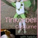 Making a Magical Tinkerbell Costume