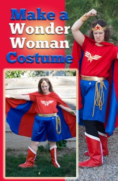Make a Wonder Woman costume at home.