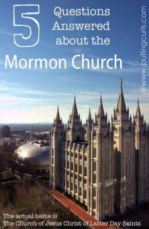 Mormon Questions