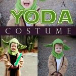 Make a Yoda Costume: Easy costumes for moms