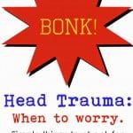 TMI Tuesdays: Head Trauma