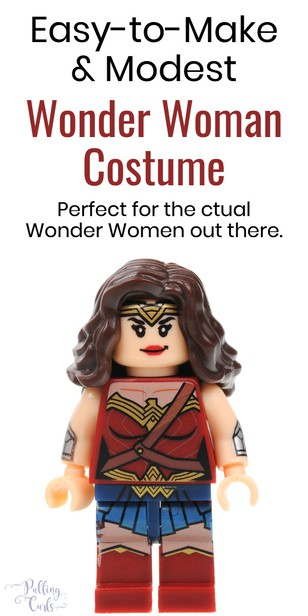 girls wonder woman costume via @pullingcurls