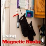 Save Counter Space in the Kitchen with Magnetic Hooks